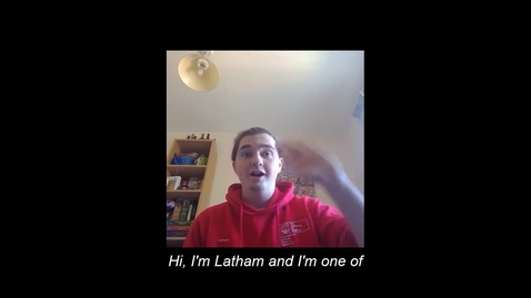 Thumbnail for entry Materials Science and Engineering Virtual Open Day Student Presentation - Latham Haigh SUBTITLES