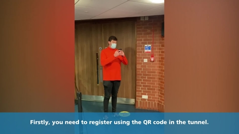 Thumbnail for entry How to register for a Covid - 19 test at the Octagon testing centre (Matt)
