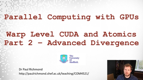 Thumbnail for entry Lecture 12 - Part 02 - Advanced Divergence