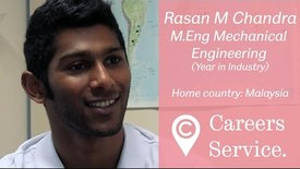 Thumbnail for entry Rasan Chandra M.Eng Mechanical Engineering, British Sugar