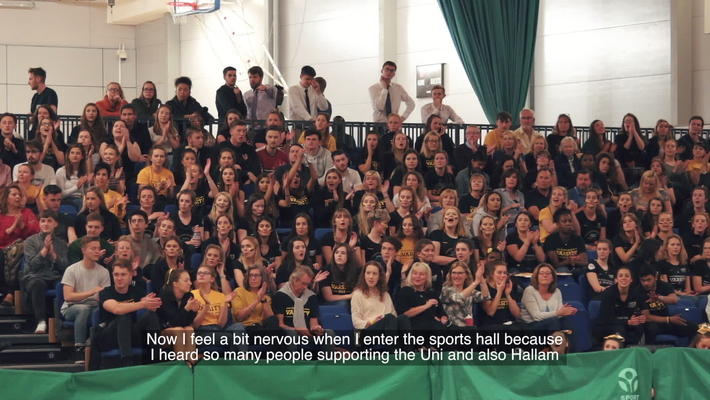 We Are International Sheffield Varsity (Longer version)