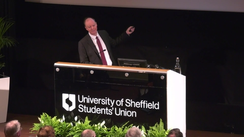 Thumbnail for entry The 20th Sir Arthur Hall Memorial Lecture.  What will the NHS be facing on its 90th birthday?