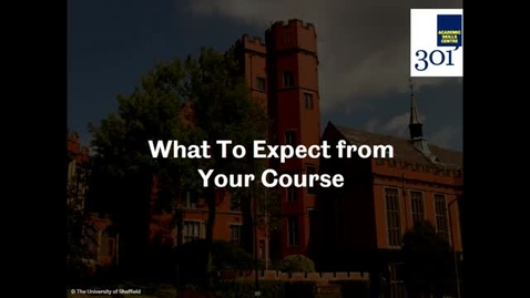 Thumbnail for entry What to Expect from Your Course - Workshop Recording