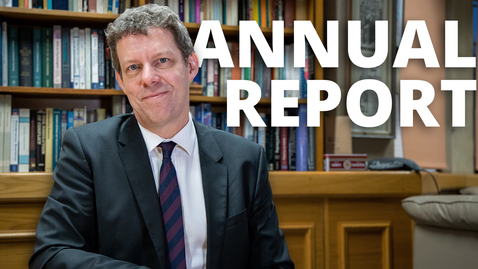 Thumbnail for entry President and Vice-Chancellor Professor Koen Lamberts - Annual Report 2018-19