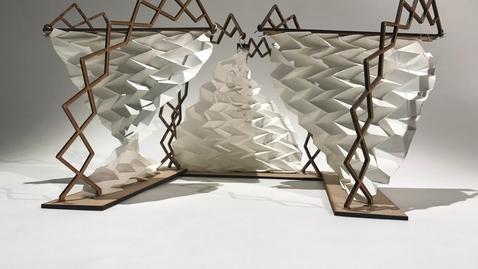 Thumbnail for entry Studio MAKE 2017 (7) Folding Space by Philippos Michael & Sofia Maraki