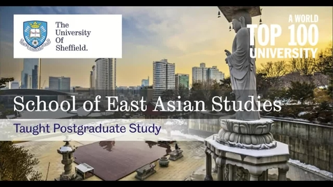 Thumbnail for entry Taught Postgraduate Open Day session - 24-02-21