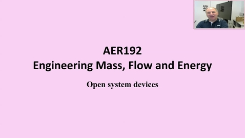 Thumbnail for entry 12a Introduction to steady flow devices
