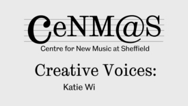 Thumbnail for entry Katie Williamson talks about her composition 'Clochan an Aifir'
