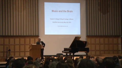 Thumbnail for entry Music and the Brain - Professor Robert Winston