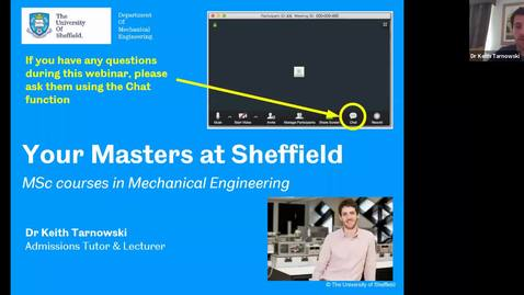 Thumbnail for entry Mechanical Engineering MSc options