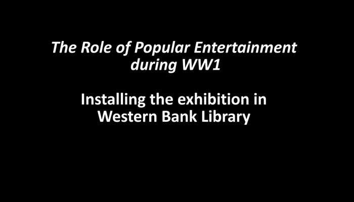 WWI Exhibition Installation Timelapse