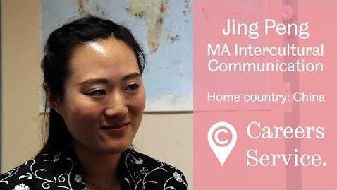 Thumbnail for entry Jing Peng MA Intercultural Communication, PwC