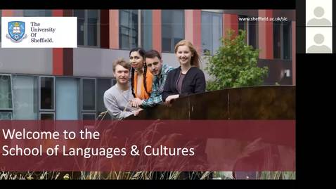 Thumbnail for entry MA Modern Languages and Cultures