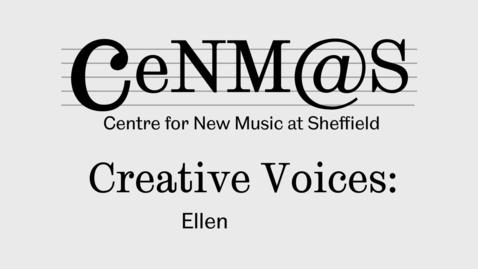 Thumbnail for entry Ellen Sargen talks about her composition 'Collage'