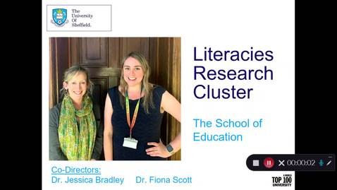 Thumbnail for entry Literacies Research Cluster 20-21 final