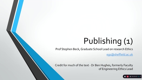 Thumbnail for entry 4 Publishing (1)