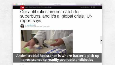 Thumbnail for entry New compound which kills antibiotic resistant superbugs discovered