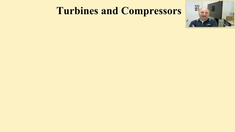 Thumbnail for entry 12b Turbines and compressors and the second law
