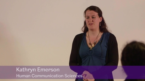 Thumbnail for entry Falling Off A Cliff Backwards: Conductors' Stories - Kathryn Emerson, Human Communication Sciences