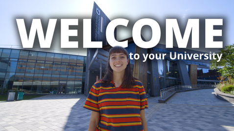 Thumbnail for entry Welcome to your University