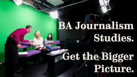 Thumbnail for entry Students talk about Journalism Studies BA at the University of Sheffield