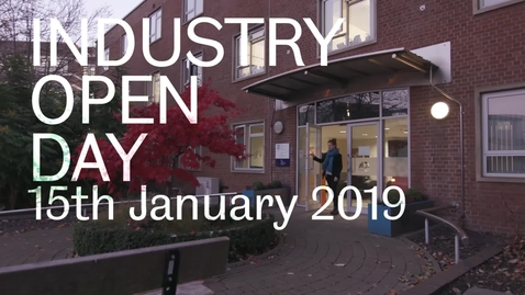 Thumbnail for entry The Centre for GaN Materials and Devices - Industry Open Day January 15th 2019