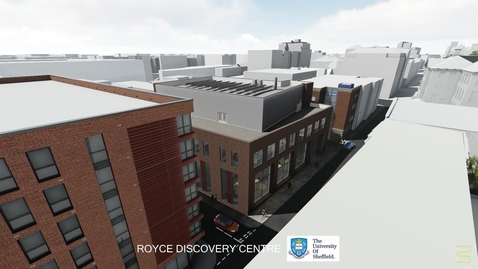 Thumbnail for entry Royce Discovery Centre Architect Fly-through