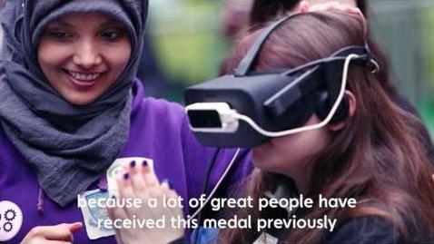 Thumbnail for entry Saheela Mohammed - Chancellor's Medal Winner 2017