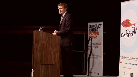 Thumbnail for entry Tristram Hunt MP: New Politics for New Times