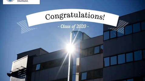 "Thumbnail for entry School of Clinical Dentistry - Congratulations 5th BDS ""Class of 2020"""