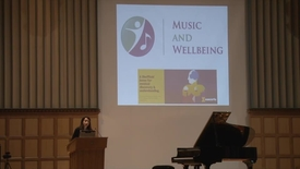 Thumbnail for entry Introduction to Music & Wellbeing - Dr Victoria Williamson