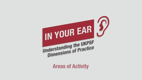 Thumbnail for entry UKPSF: Areas of Activity