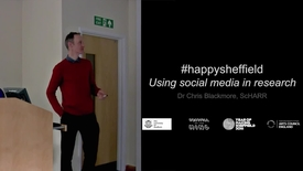 Thumbnail for entry Dr Chris Blackmore - #HappySheffield