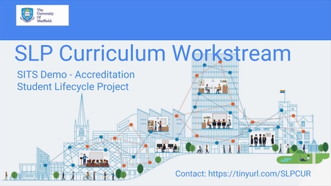 Thumbnail for entry CUR Accreditation out-of-the-box demo (1 Aug 18)