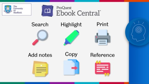 Thumbnail for entry Using ebooks effectively: useful tools