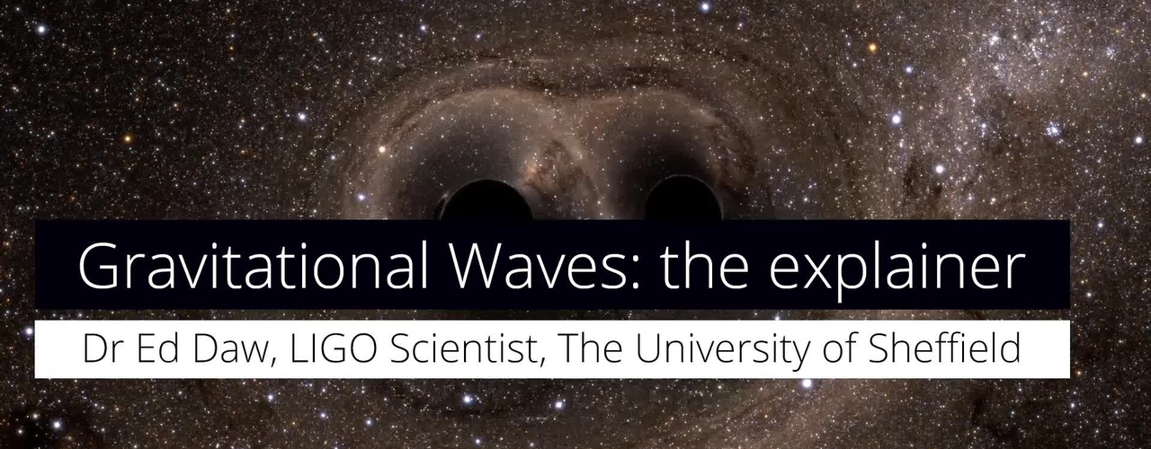 What are gravitational waves? A LIGO scientist explains...