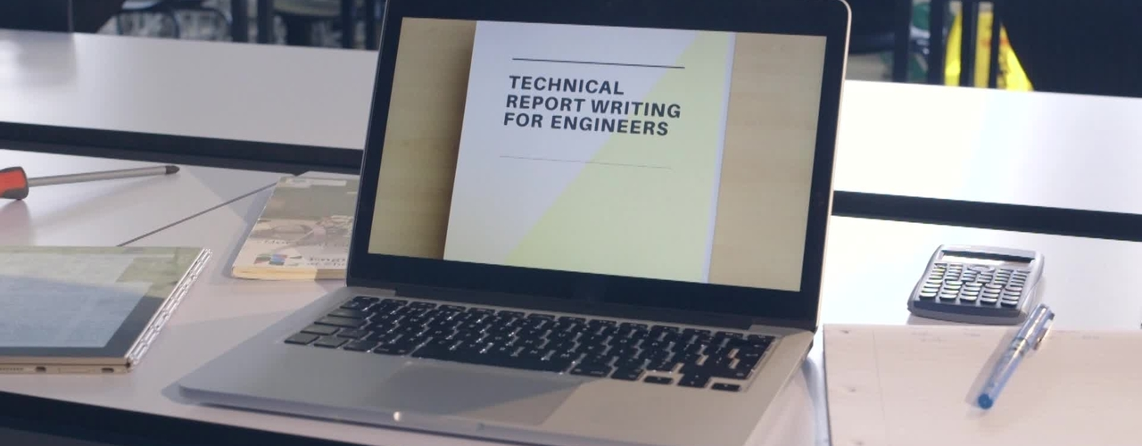 'Technical Report Writing for Engineers' trailer