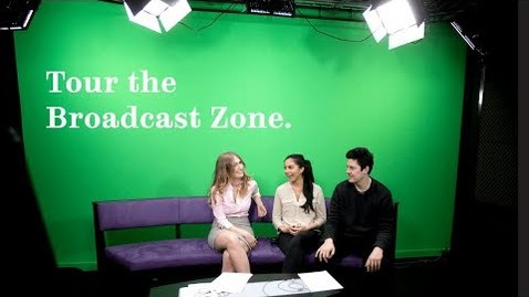 Thumbnail for entry Tour our Broadcast Zone