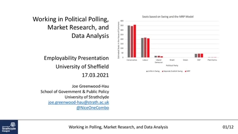 Thumbnail for entry Careers In... Polling, Market Research and Data Analysis
