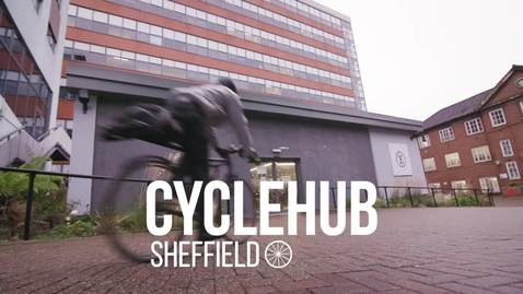 Thumbnail for entry The University of Sheffield Cycle Hub