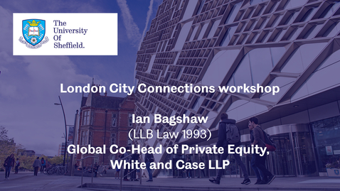 Thumbnail for entry London City Connection 2021 - Workshop 2 - Ian Bagshaw