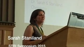 Thumbnail for entry Sarah Staniland - STRI symposium 2015
