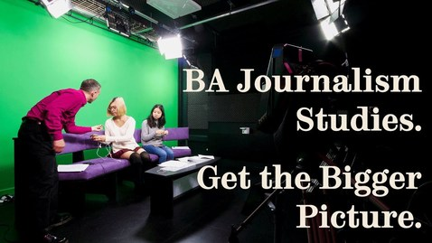 Thumbnail for entry BA Journalism Studies at Sheffield: a student perspective