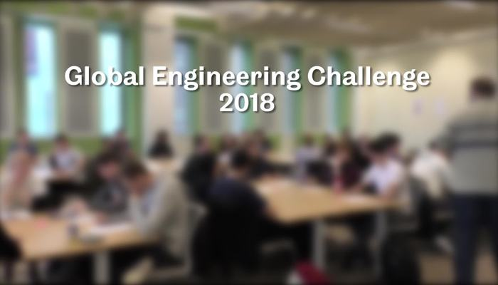 Global Engineering Challenge 2018