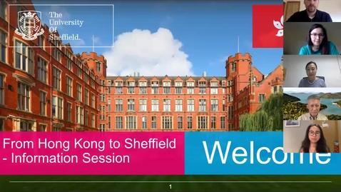 Thumbnail for entry From Hong Kong to Sheffield