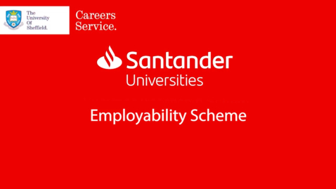 Thumbnail for entry Santander Universities SME Internship Programme