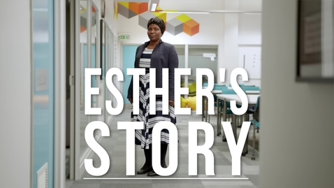 Thumbnail for entry Thinking differently, naturally – Esther's story