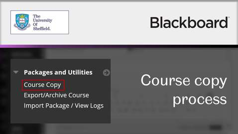 MOLE Refresh - How to use the course copy tool