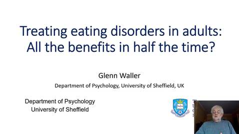 Thumbnail for entry Psychology Taster Lecture - CBT-T vs CBT-E for Eating Disorders