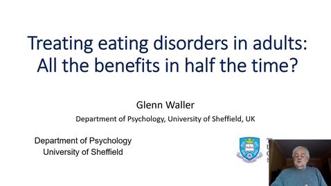 Thumbnail for entry Psychology Taster Lecture - CBT-T vs CBT-E for Eating Disorders
